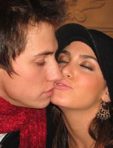 Pavel Priluchnyy and Nikki Reed