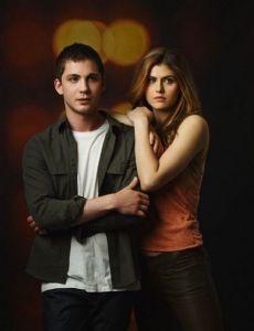Logan Lerman and Alexandra Daddario