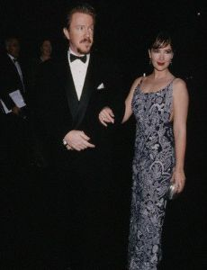 Janine Turner and Mark Grace