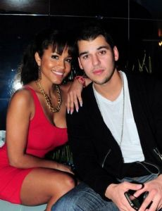 Rob Kardashian and Rosa Acosta