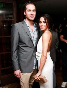 Meghan Markle and Cory Vitiello