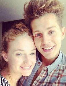 Sophie Turner and James McVey