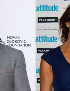 Gerard Butler and Lizzie Cundy