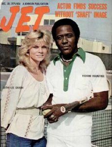 Cathy Crosby and Richard Roundtree