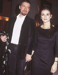 Penelope Cruz and Thomas Obermaier