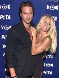 Marcus Schenkenberg and Pamela Anderson