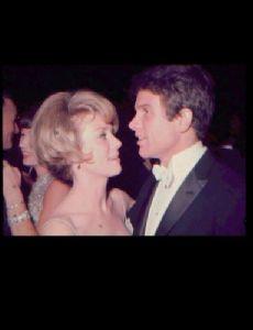 Inger Stevens and Warren Beatty
