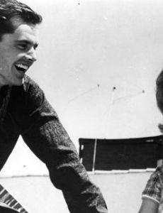 Jack Nicholson and Georgianna Carter