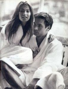 Marcus Schenkenberg and Rosemarie Wetzel