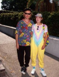 Shelley Duvall and Dan Gilroy