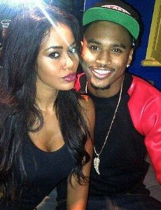 Trey Songz and Tabby Brown