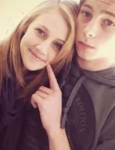 Luke Hemmings and Aleisha McDonald