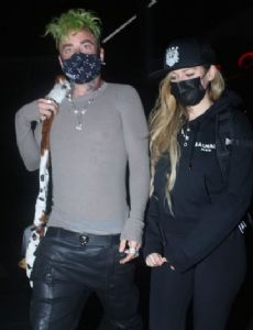 Derek Smith and Avril Lavigne