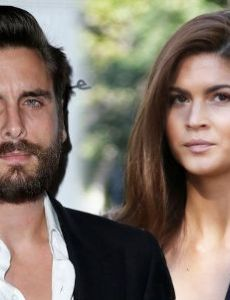 Lina Sandberg and Scott Disick