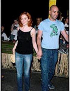 Ahmet Zappa and Rose McGowan