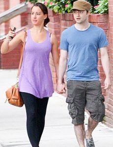 Daniel Radcliffe and Rosanne Coker