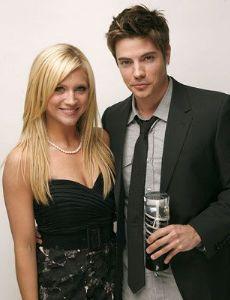 Josh Henderson and Brittany Snow