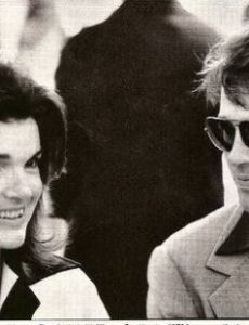 Warren Beatty and Jacqueline Kennedy
