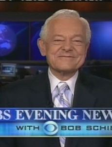 CBS Evening News with Bob Schieffer