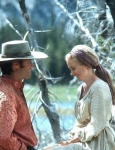 Jean Seberg and Clint Eastwood
