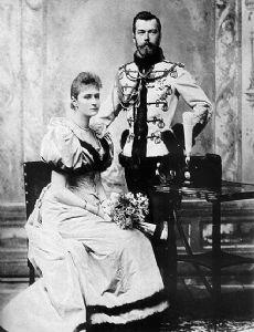 Nicholas II of Russia and Alexandra Feodorovna (Alix of Hesse)