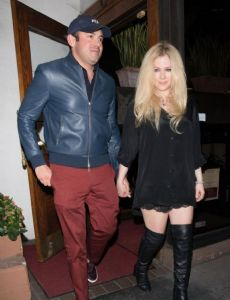 Avril Lavigne and Phillip Sarofim