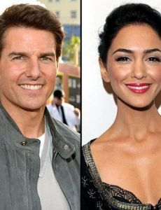 Tom Cruise and Nazanin Boniadi