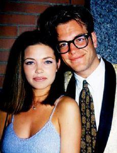 Michael Weatherly and Amelia Heinle