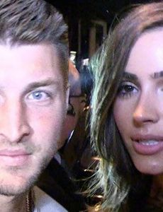 Tim Tebow and Olivia Culpo