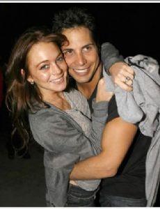 Joe Francis and Lindsay Lohan