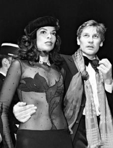 Bianca Jagger and Helmut Berger