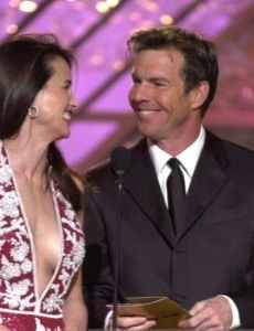 Andie MacDowell and Dennis Quaid