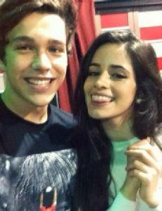 Camila Cabello and Austin Mahone