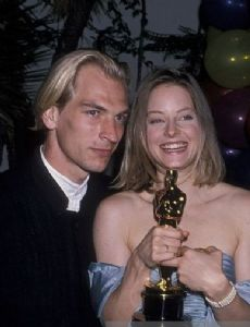Jodie Foster and Julian Sands