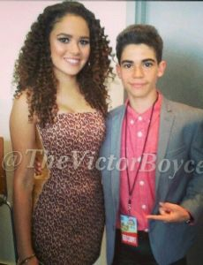 Cameron Boyce and Madison Pettis