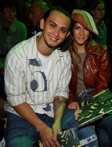Mandy Moore and Billy Crawford