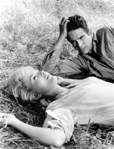Warren Beatty and Jean Seberg
