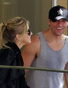 Julianne Hough and Dane Cook