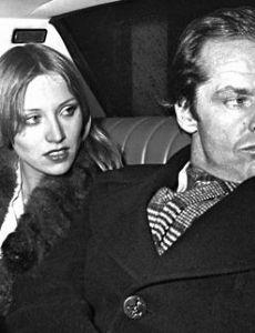 Jack Nicholson and Winnie Hollman