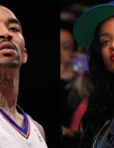 J. R. Smith and Rihanna