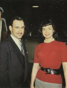 Bettie Page and Richard Arbib