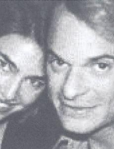 Caron Bernstein and David Lee Roth