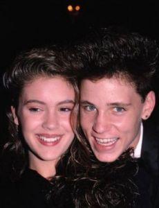 Corey Haim And Alyssa Milano