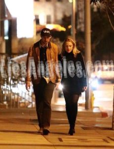 Boyd Holbrook and Maika Monroe