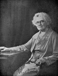 Caroline Augusta Foley Rhys Davids