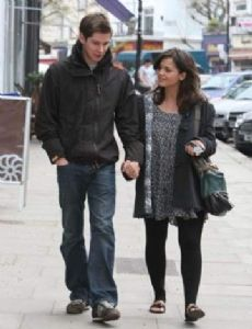Jenna-Louise Coleman and Karl Davies