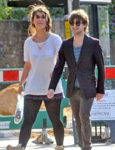 Daniel Radcliffe and Olive Uniacke