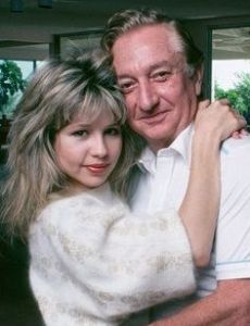 Meshulam Riklis and Pia Zadora
