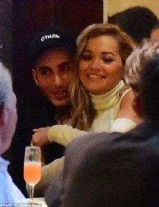 Rita Ora and Fai Khadra