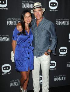 Richard Burgi and Liliana López